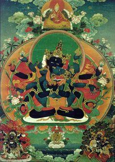 Mandala hindu. Demonio.
