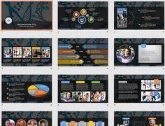 DNA PowerPoint by SageFox