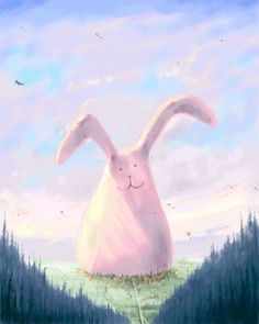 The Giant Fluffy Bunny by Bakenius