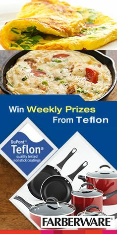 Win Weekly Prizes From Teflon