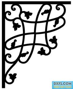 Free Cad Software, Ganesha Art, Free Stencils, Metal Art, Vector Free, Lazer Cut, Corner, Lettering, 3ds Max