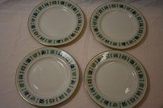 Royal Doulton England Tapestry Dessert Plates Set of 4 Four 6.5 Inches #RoyalDoulton