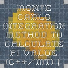 Monte Carlo Integration method to calculate PI value (C++/MT) | TechCloud