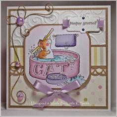 Little K Smith's Crafty Corner - Penny Black