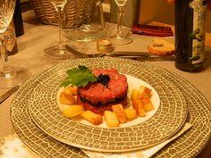 tartare Napoléon au caviar