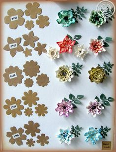 Janet is bij ons echt de kei in het maken van hele mooie bloemetjes met de Noor! Design Floral Flourishes stansen. Dus het ligt voor de h...