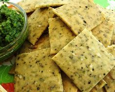 Cocina Sin Gluten: Galletitas Saladas con Oregano Raw Food Recipes, Veggie Recipes, Gluten Free Recipes, Healthy Recipes, Vegan Snacks, Healthy Snacks, Salada Light, Biscuits, Tasty Bites