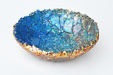 Daybreak by Mira Woodworth (Art Glass Bowl)