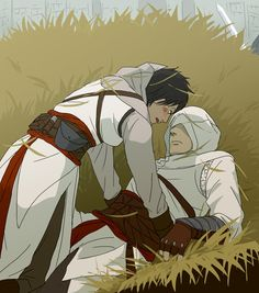 Assassin's Creed || Altair/Malik, in the hay