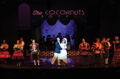 A scene from the Utah Shakespeare Festival's 2016 production of The Cocoanuts. (Photo by Karl Hugh. Copyright Utah Shakespeare Festival 2016.) @utahshakespeare #cocoanuts