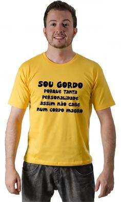 Dica #palcofashion #Camiseta - Gordo #moda #fashion