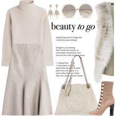 How To Wear Very neutrally yours Outfit Idea 2017 - Fashion Trends Ready To Wear For Plus Size, Curvy Women Over 20, 30, 40, 50