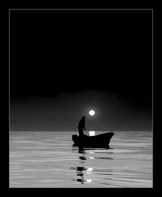 by the moon light...