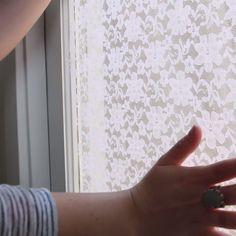 Lace Privacy Screen