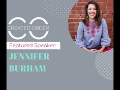 Listen/watch as the women of the womens conference, Created Order, speak about who they are and how they inspire other women. June 28 & 29 in Charlotte.