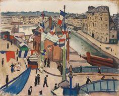 Albert Marquet: La fête nationale au Havre