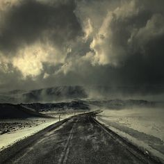 Snowstorm by Sverrir Thorolfsson, via Flickr