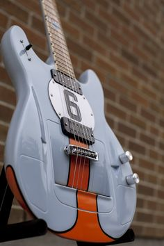 A limited edition genuine Victory Series guitar with a chassis plate matching numbers to the 1969 Le mans winner