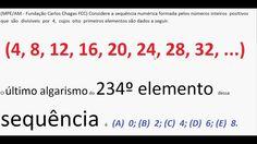 Curso de Matemática Progressão Aritmética PA Sequência numérica Aula Exe.. https://youtu.be/ydkdvvSUAoA