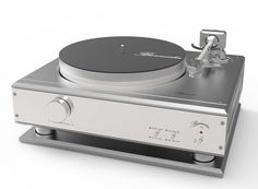 Burmester unveils first turntable to mark 40th anniversary