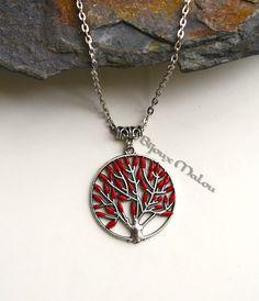 Heart Tree Necklace Game of Thrones Jewellery von BijouxMalou