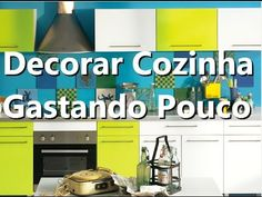 DECORANDO A PAREDE DA COZINHA COM PAPEL CONTACT - YouTube