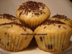 Recette - Muffins au babeurre et aux pépites de chocolat | Notée 4.2/5