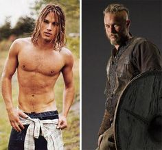 Travis Fimmel - The Calvin Klein model-turned-actor making history (sexy) as Viking warrior Ragnar Lothbrok on the History Channels Vikings series. Vikings Travis Fimmel, Vikings Ragnar, Travis Vikings, Watch Vikings, Viking Warrior, Ragnar Lothbrok Actor, Lagertha, Gorgeous Men, Beautiful People