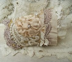 fabric wrist cuff,lace