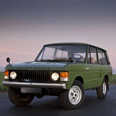 The original Range Rover 1970