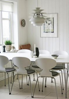 Stylizimo - Design Voice Arne Jacobsen Ant Chairs here: http://www.paletteandparlor.com/products/arne-jacobsen-ant-chair