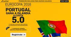 el forero jrvm y todos los bonos de deportes: betfair Portugal gana Islandia supercuota 5 Euroco...