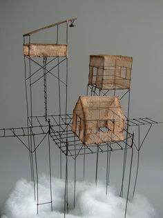 Isabelle Bonte- détail d'une pièce (° 03) de L'éclaircie
