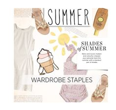 """""""Moody Summer"""" by sweetestdreamer ❤ liked on Polyvore featuring Esther Williams, Aerie and Ancient Greek Sandals"""
