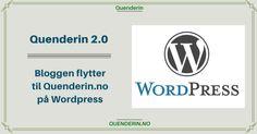 Quenderin 2.0 - Bloggen flytter til Quenderin.no med WordPress Wordpress, Logos, Blogging, Logo