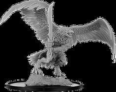 Hrókr, Gunnhrafn Bird People, Sculptures, Lion Sculpture, Monsters, Miniatures, Statue, Sculpting, Mini Things, Mockup