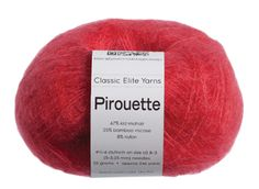 Yarn used in vogue knit crochet mag red sweater!