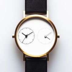 Dezeen Watch Store: the Long Distance watch by Kitmen Keung displays two time zones at once and Dezeen Watch Store is the very first reseller to stock the timepiece! (+ slideshow).  Long Distance is t