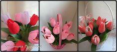 Мастер-класс Свит-дизайн Бумагопластика Цветы  как я их делаю  Бумага гофрированная фото 1