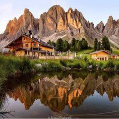 Rifugio della Odle, Santa Magdalena, Bolzano, Itália