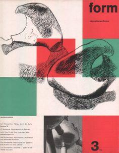 form N° 3. 1958. Cover: Le Corbusier. © Verlag form GmbH & Co. KG