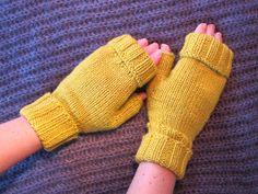 A's Almanac: Absolutely fabulous . Fingerless Mittens, Absolutely Fabulous, Arm Warmers, Knitting, Fashion, Fingerless Gloves, Yellow, Fingerless Mitts, Moda