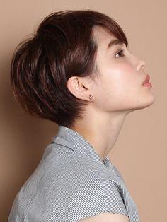 スタイリング簡単!洗練大人ショート Beauty Box, Short Hair Styles, Make Up, Hairstyle, Hair Ideas, Easy, Fashion, Hairdos, Hair