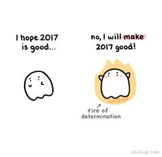 I hope you are all filled with fires of determination to motivate you in the new year! You are in control of how your year turns out! :D
