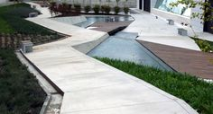 Image 4 of 22 from gallery of Würth La Rioja Museum Gardens / Dom Arquitectura. Photograph by Dom Arquitectura Landscaping Tools, Modern Landscaping, Outdoor Landscaping, Urban Landscape, Landscape Design, Garden Design, Landscape Arquitecture, Urban Park, Urban Furniture