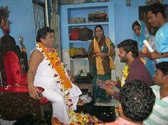 Anubhav Mohanty spotted with Baba Sarathi