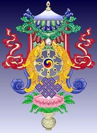 Eight Auspicious Symbols combined - great info in this post