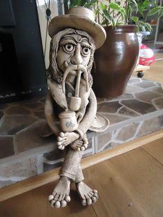 Vodník Česílko - z keramiky - 32 cm
