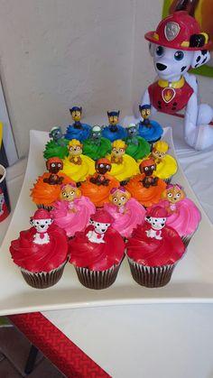 18 ideas birthday party food for kids paw patrol cake ideas Paw Patrol Cupcakes, Paw Patrol Cake, Paw Patrol Party, Cupcakes For Boys, Birthday Cupcakes, 4th Birthday Parties, Boy Birthday, Paw Patrol Birthday Theme, Cumple Paw Patrol