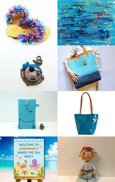 Under the Sea by Mammabook on Etsy--Pinned with TreasuryPin.com